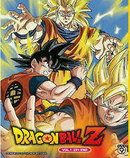 DRAGON BALL Z COMPLETE SERIES (1-291 END) Anime DVD with English subtitles