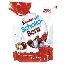 3 Bags x Kinder Schoko Bons (600g) chocolate-hazelnut-bons  **FREE SHIPPING**