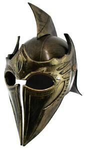 Asian Samurai Warrior Roman Spartan Gladiator Pointed Helmet Adult Costume