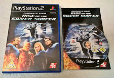 Fantastic Four: Rise of the Silver Surfer Para Sony Playstation 2-Completo