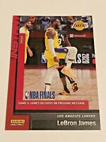 2019-20 Panini Instant Basketball Los Angeles Lakers Set #25 - LeBron James