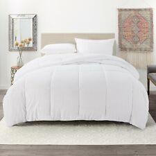 Down Alternative Comforter Ultra Soft All Season Quilted Duvet Insert - White
