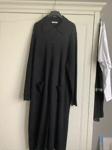 ladies long black knitted Cardigan Plus Size 28