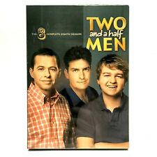 Two and a Half Men The Complete Eighth Season 8 DVD 2011 2-Disc Set
