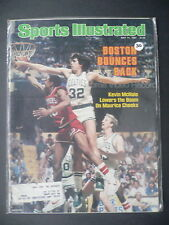 Sports Illustrated May 11, 1981 Kevin McHale Larry Bird Celtics Cheeks NBA '81 D