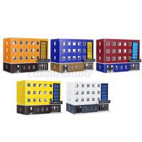 1/150 Outland Models Train Railway Moder Building Dormitory House School Hot A