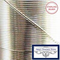 Sterling Silver .925 Wire 21 Gauge Half Hard Round Argentium