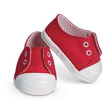 """American Girl BT BITTY TWIN RED ARGYLE OUTFIT MEET SHOES for 15"""" Baby Dolls NEW"""