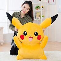 32in.Big Digimon Pikachu Pokemon Plush Giant Large Stuffed Toy Doll gift Pillow