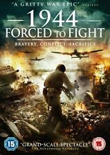 1944: Forced To Fight (DVD) (WAR) (NEW AND SEALED) (REGION 2) (FREE POST)