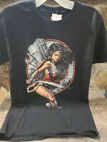 Wonder Woman Warrior DC Comics Premium Licensed Adult T-Shirt