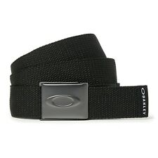 Genuine Oakley Ellipse Web Belt - Black 96185-02e