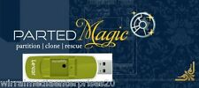 Separati MAGIC Partition Manager su 8GB marca MEMORY STICK ridimensionare le partizioni
