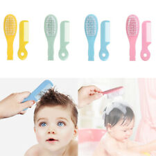 Soft Bristle Baby Hair Brush & Comb Set For Toddlers Bath Head Massage Baby Gift
