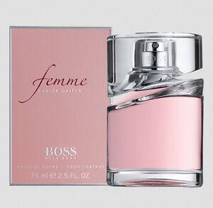 Hugo Boss Femme 75mL EDP Spray Authentic Perfume Women COD PayPal