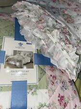 New listing Rachel Ashwell Simply Shabby Chic Soft Washed Microfiber King Quilt Set Ditsy