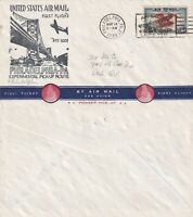 US 1939 AM 1001 FIRST FLIGHT FLOWN COVER PHILADELPHIA PA TO WASHINGTON DC