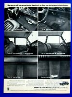 "1968 Austin America Original Print Ad 8.5 x 11"""