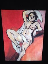 "Henri Matisse ""Nude W/ White Scarf"" Fauvism French Art 35mm Glass Slide"