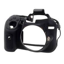 EasyCover Pro peau Silicone Caméra Armure étui pour Nikon D5300 DSLR noir