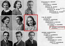 1930 Altoona High School Yearbook~actress Janet Blair~Broadway~Columbia Pictures