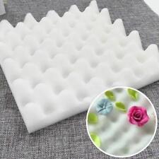 2Pcs DIY Foam Dry Pads Drying Sponge Mats Cake Fondant Sugar Flower Tool Kitchen