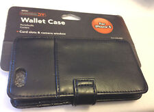 ATIVA MOBIL IT WALLET CASE FOR IPHONE 5 CREDIT CARD SLOTS CAMERA WINDOW NWT