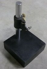 """Indicator Stand 10"""" Granite Base Surface Plate 6"""" x 6"""" x 2"""""""