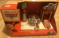 Disney Pixar Cars Tow Mater's Yard Wood Collection Crane Mater Radiator Springs