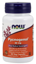 Pycnogenol 30mg Now Foods 30 Caps