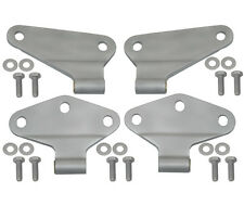 Body Door Hinge Set 4 pc 2 Dr Sandblasted Jeep Wrangler JK 2007-16 40580