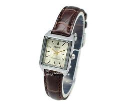 -Casio LTPV007L-9E Ladies' Strap Fashion Watch Brand New & 100% Authentic