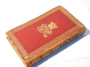 1888 British Almanac & Companion QUEEN VICTORIA Own Library Cypher Monogram BOOK