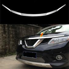 2014-2019 For Nissan X-Trail Rogue Chrome Front Hood Grill Cover ABS Bonnet Trim
