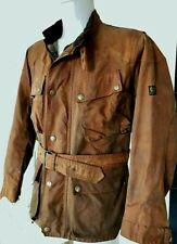 Men's Belstaff Trialmaster Waxed Motorcycle Vintage Jacket XL