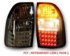 MITSUBISHI TRITON STRADA L200 96-04 LED TAIL LIGHT LAMP REAR MK SMOKE BLACK RED