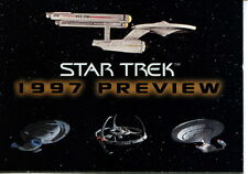 STAR TREK 1997 PREVIEW SKYBOX PROMO CARD NO NUMBER