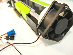 GPU Cooler Mount for Nvidia Tesla K80 P/V100 M40 Passive Cooling (Mount only)