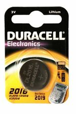 Lot of 10 DURACELL CR2016 DL2016 2016 BATTERY Electronics, remote, 3V, New,