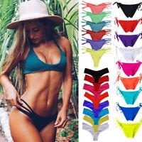 HOT Women Brazilian Cheeky Bikini Bottom Thong Bathing Beach Swimsuit Swimwear