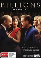 Billions : Season 2 (DVD, 4-Disc Set) NEW