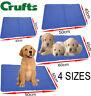 Crufts Dog Cat Pet Self Cooling Gel Mat Heat Summer Hot Weather Bed Kitten Puppy