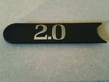 2.0 nouveau badge decal emblem RENAULT