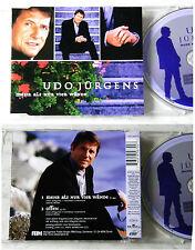 UDO JÜRGENS Mehr als nur vier Wände .. 1999 OBI BMG Maxi CD