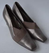 Señoras van dal Davenport metálica en bronce Shoes Size UK 7