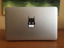 BATMAN style mask vinyl decal sticker Apple Mac Book Pro,Air,laptop 11,13,15,17