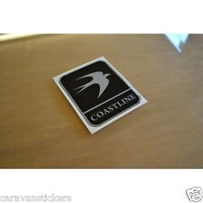 SWIFT Coastline - (RESIN DOMED) - Caravan Dent Sticker Decal Graphic - SINGLE