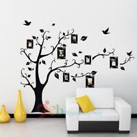 Black Tree Decal Room Wall Sticker DIY Home Family Decor Vinyl Art Removable