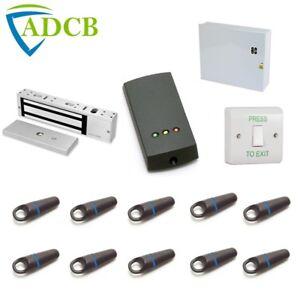 Paxton Compact Access Control Door Kit 10 Proximity Fobs Maglock DoorRelease PSU