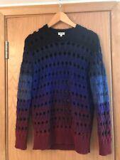 Kenzo Paris Tie & Dye Ombre Jumper S Sweater Open Knit